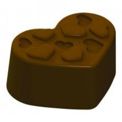 巧克力硬模 (心型)  單品尺寸33 x 25 x14 mm  (24模)