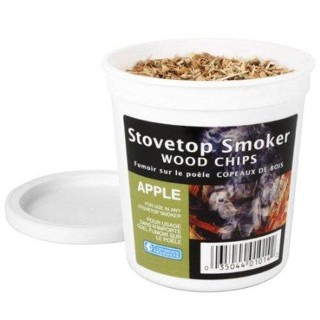 煙燻氣味木屑- 蘋果木味 (含罐100g)