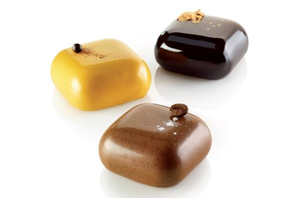 寶石 (100 ml)  尺寸295x175x30  / 中型61 x 61 x h30 | Silikomart: 36.206.87.0065