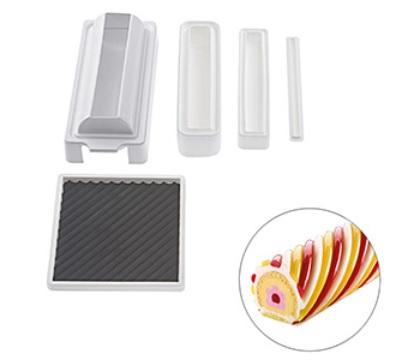 圓形螺紋蛋糕模 /  義大利廠牌: Silikomart 25.956.99.0065